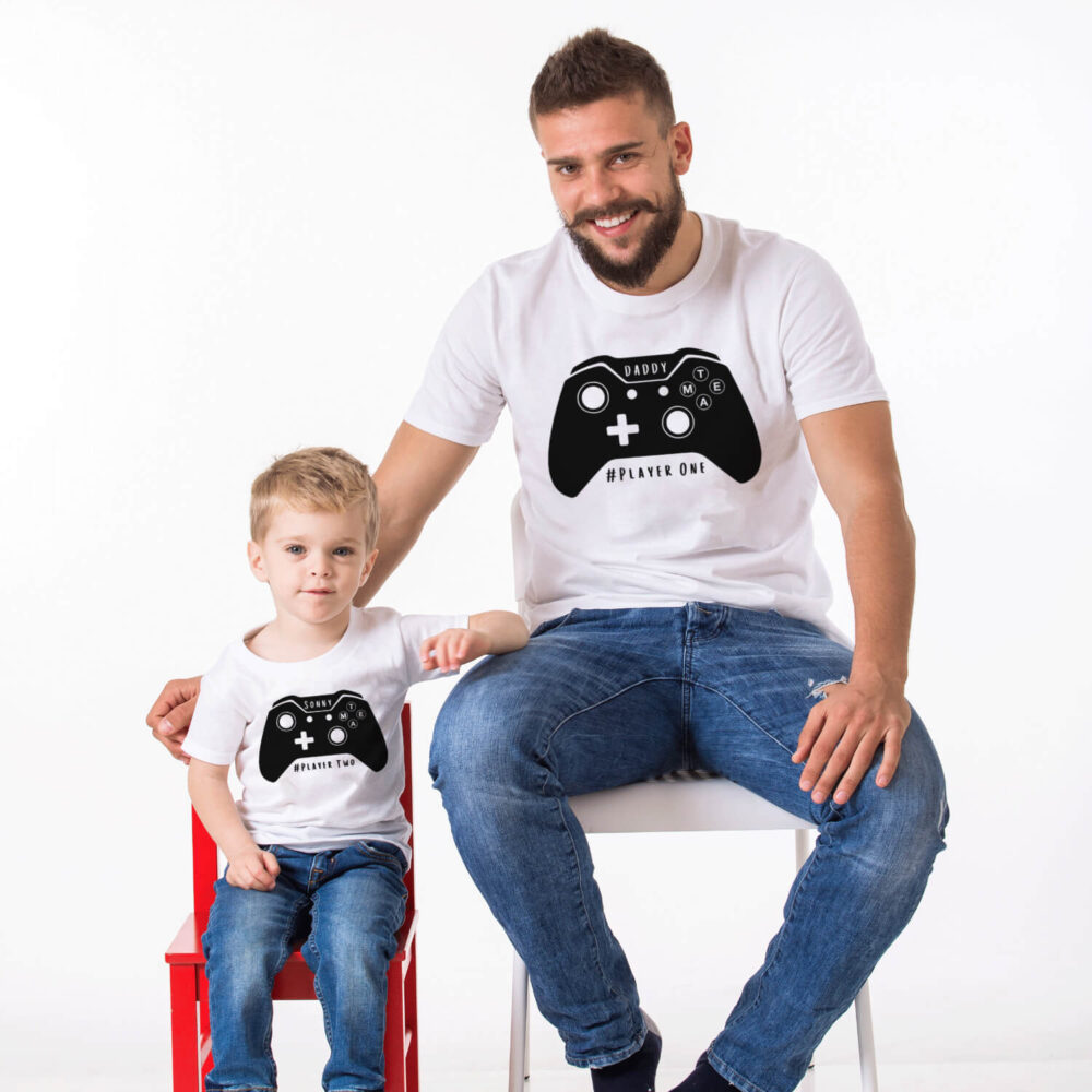 Daddy and Me Xbox Player T-Shirt Set