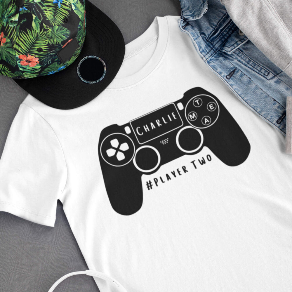 Daddy and Me Gamer T-Shirt Set childs