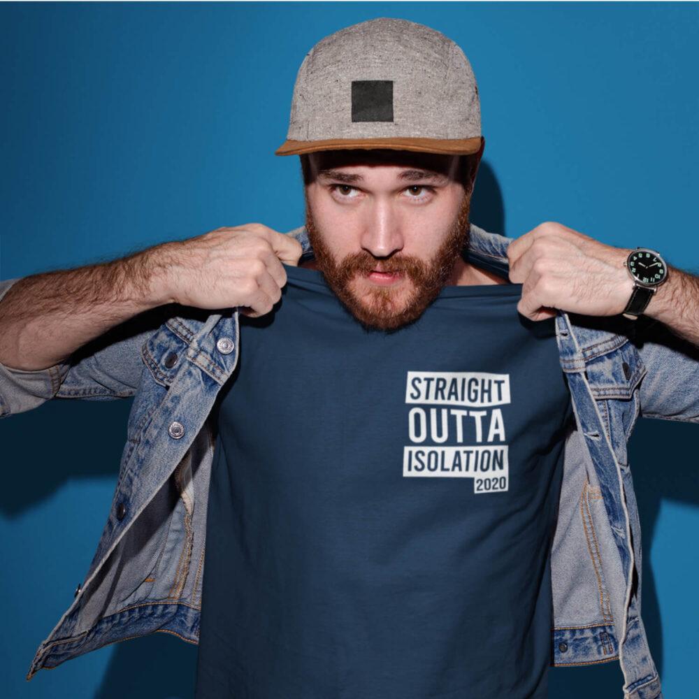 Straight Outta Quarantine 2020 T-Shirt