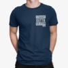 Straight Outta Quarantine 2020 T Shirt new french navy