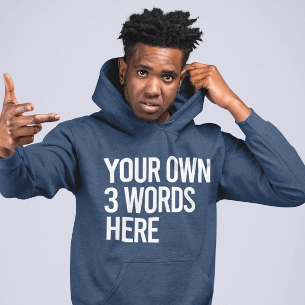 dad slogan hoodie