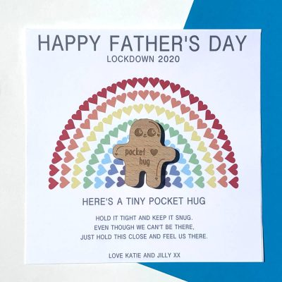 Father's Day Pocket Hug card