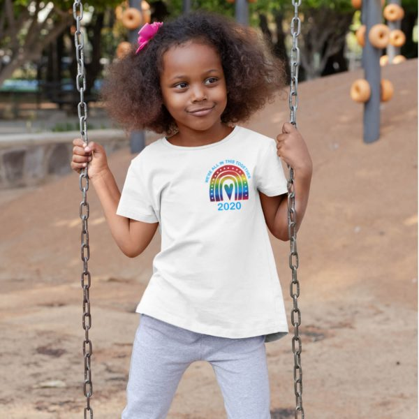 rainbow tshirt kids