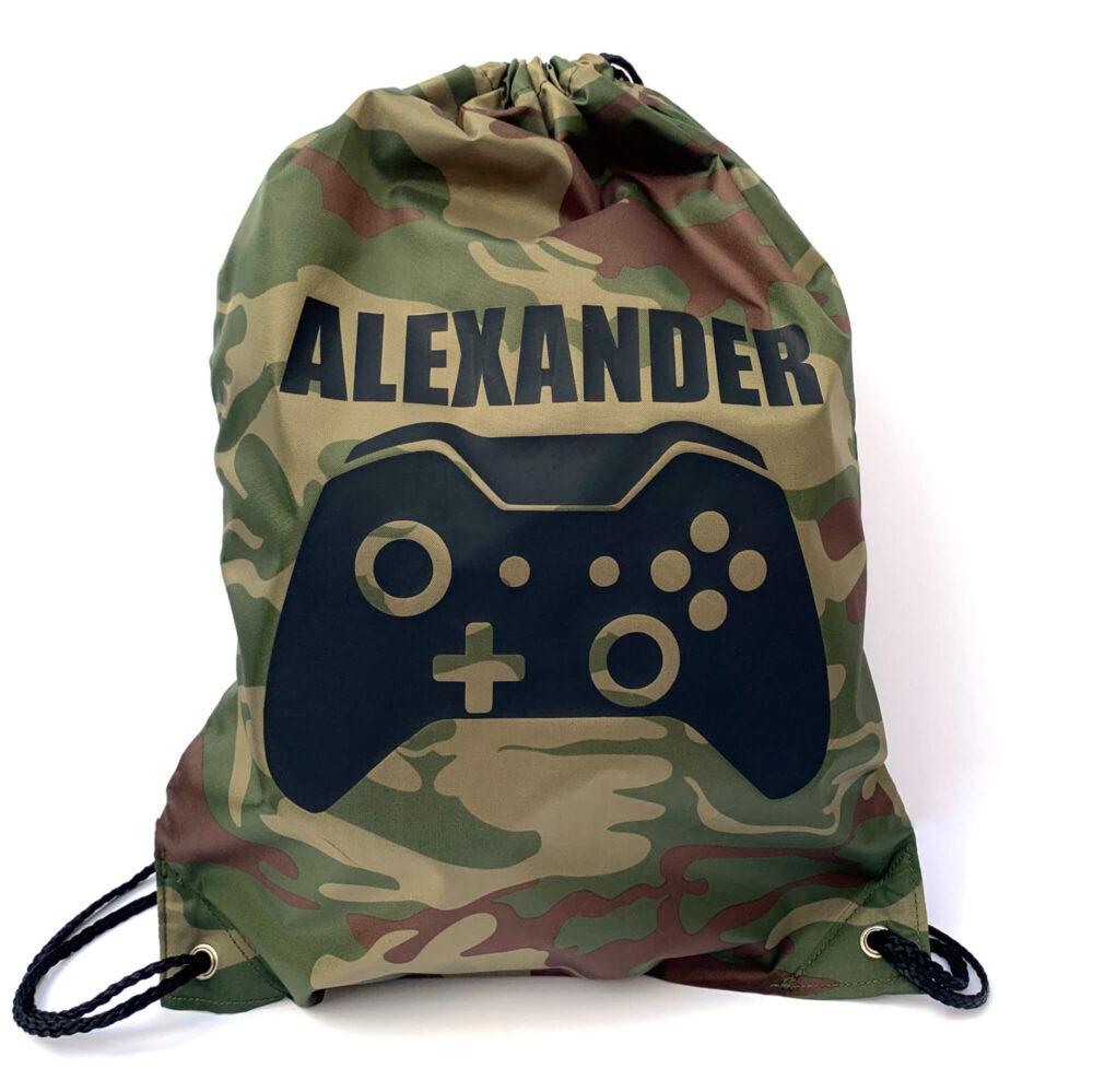 Personalised Gamer Bag xbox