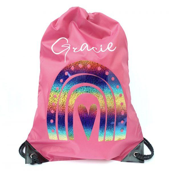 Personalised Rainbow Bag