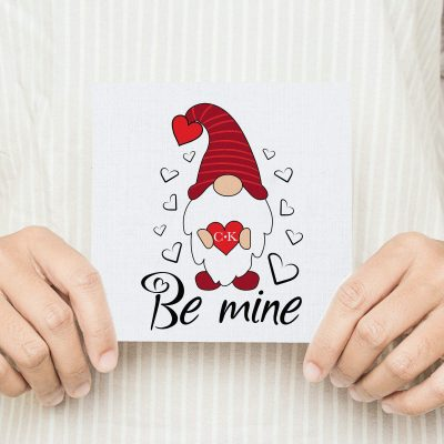 Be Mine Valentines Card