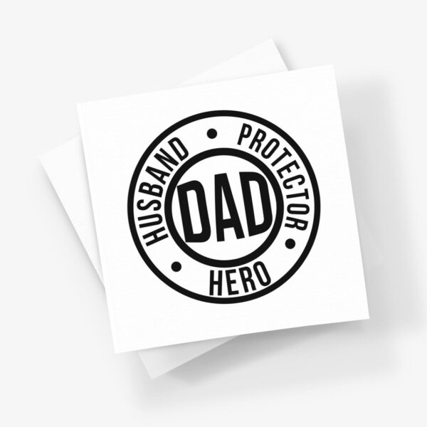 Hero fathers day card
