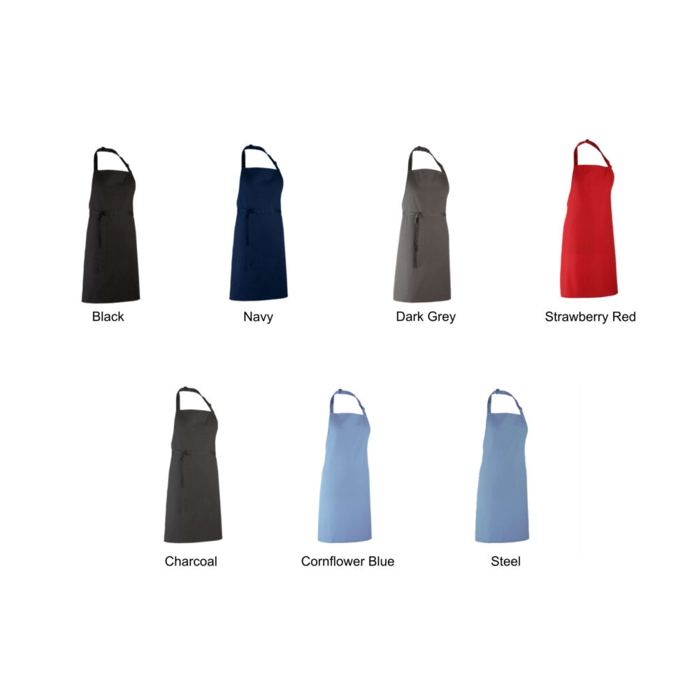 Colour Chart Mens Aprons