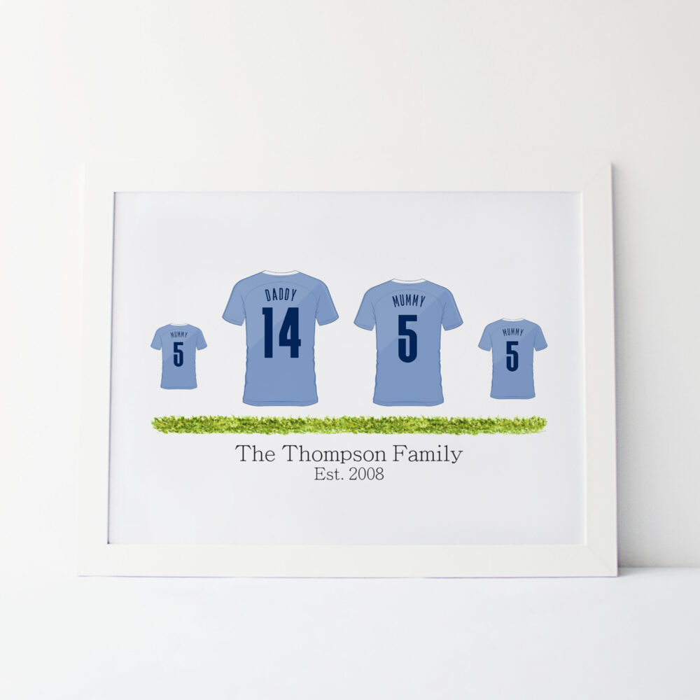 Family Football Team Shirts