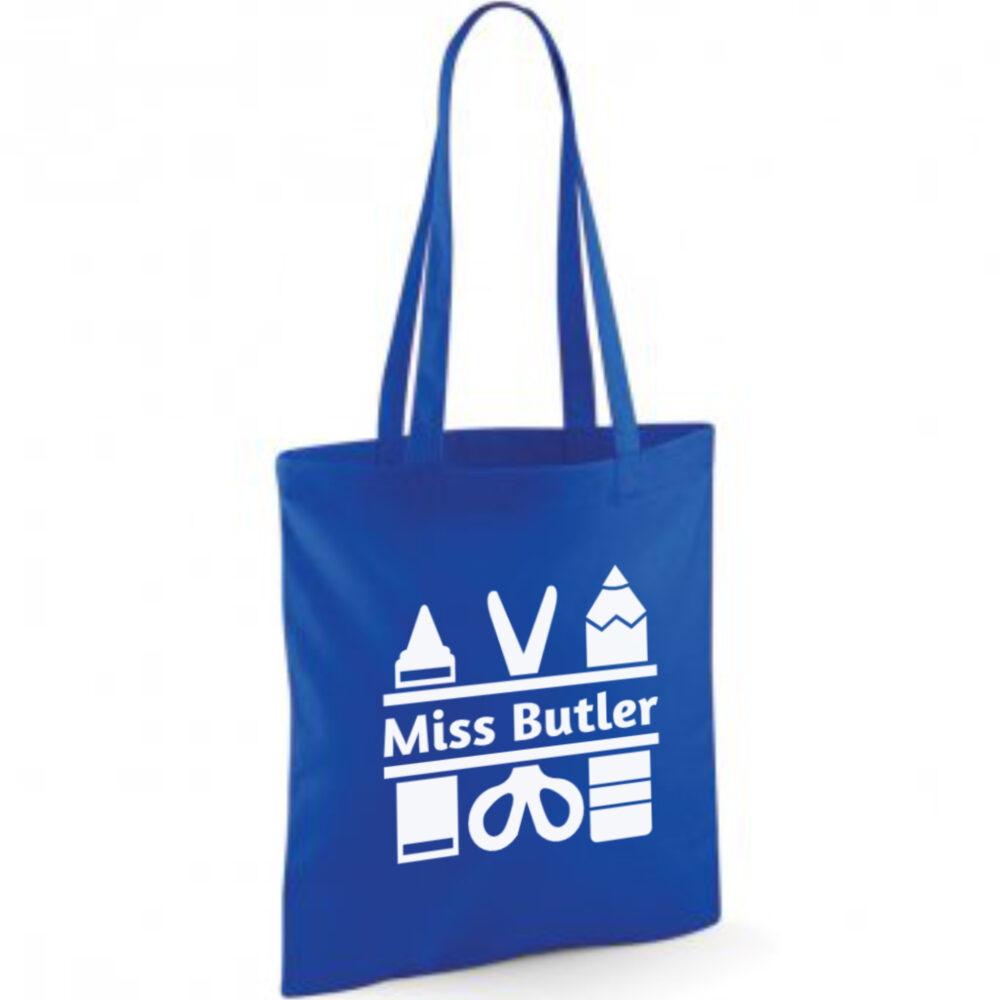 Personalised Teachers Stuff Bag
