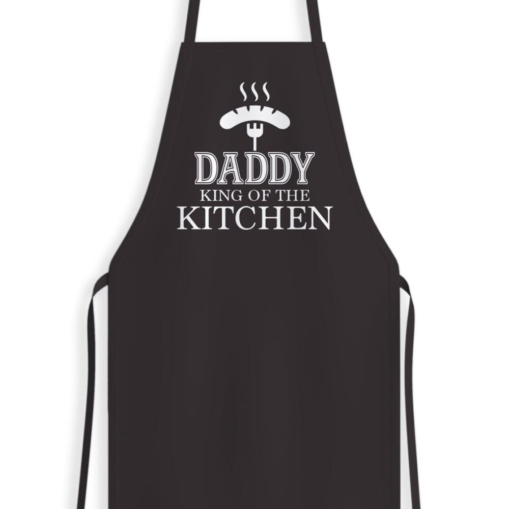 Daddy King Of The Kitchen Apron