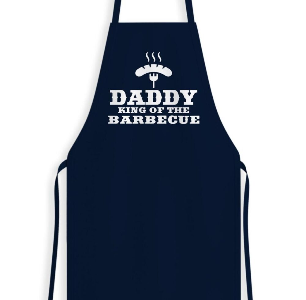 Daddy King Of The BBQ Apron