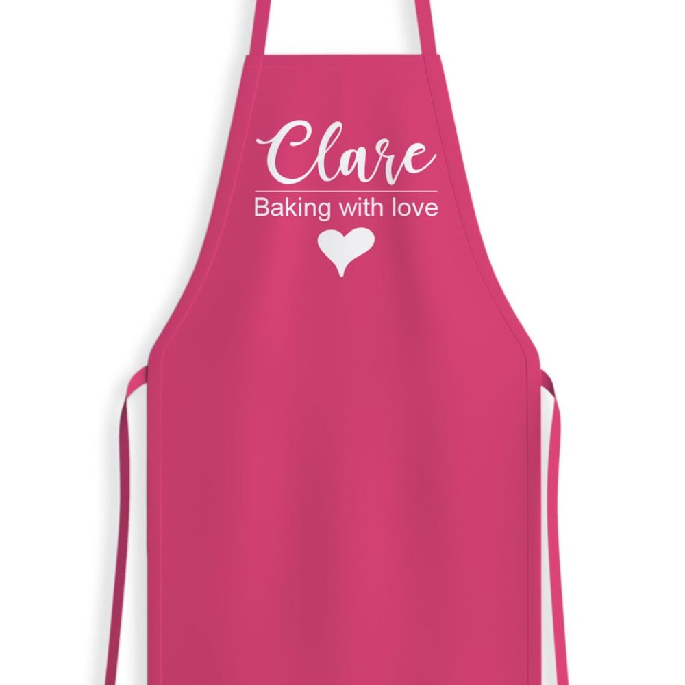 Baking With Love Apron