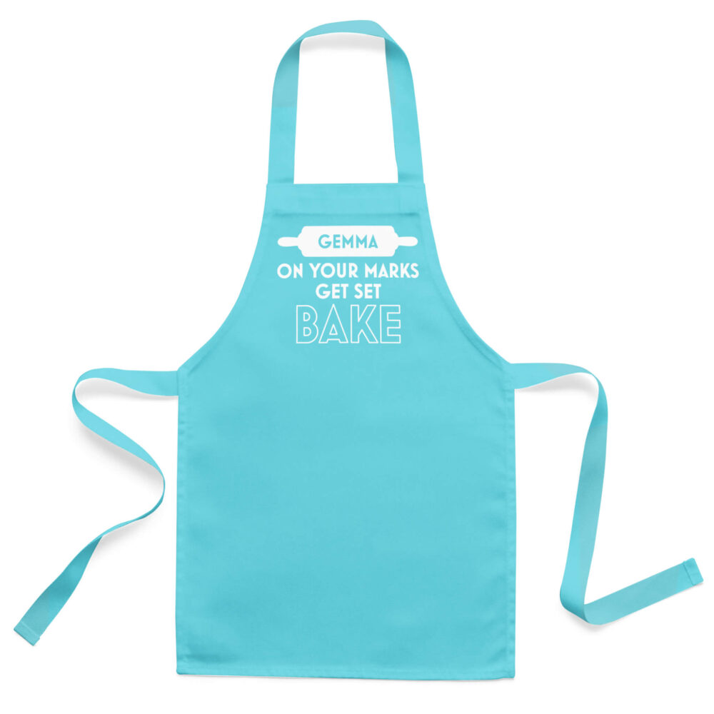 On Your Marks Bake Apron