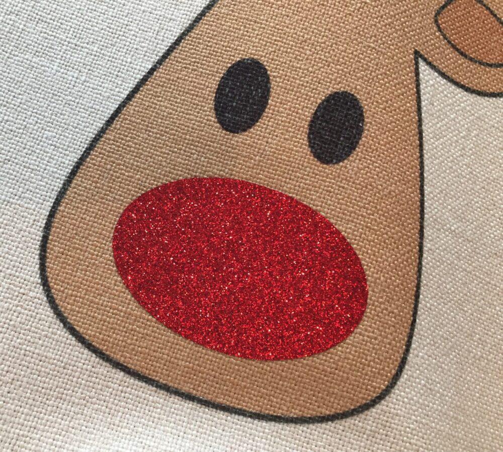 Christmas Rudolph sack nose