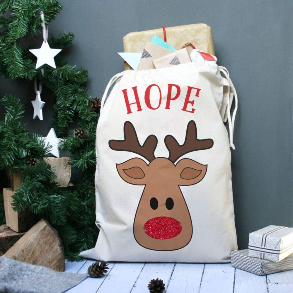 Christmas Rudolf sack