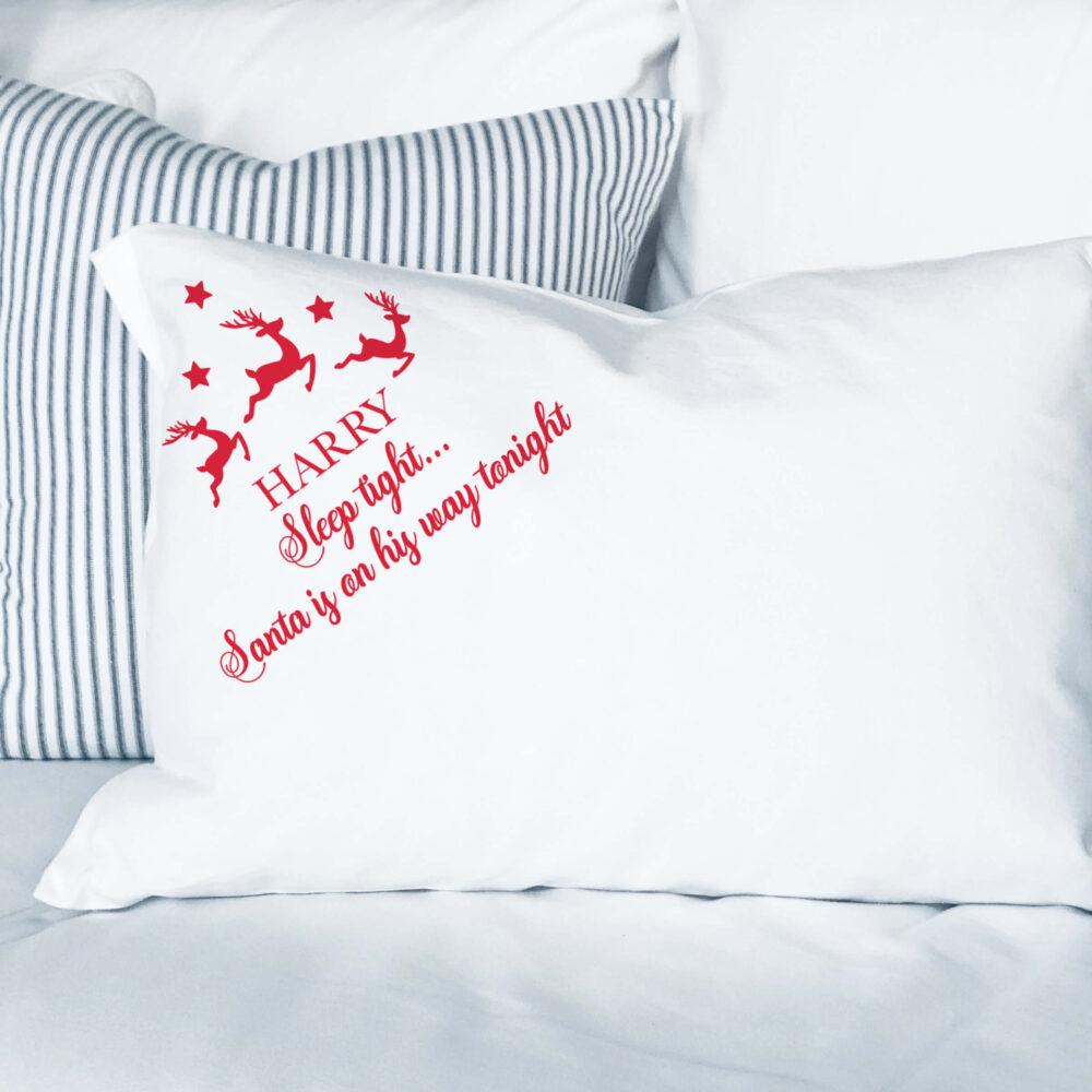 Christmas Eve Pillowcase